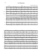 Las Mananitas For Beginner Mariachi By Folklore Sheet Music On